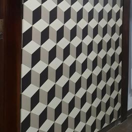 Adesivo Laminado fosco Vinil Branco  4x0 Fosco Corte Reto Proteção UV Fosco